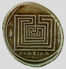 Crete labyrinth