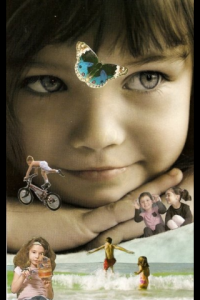 Inner Child SoulCollage by C.C. McQuain