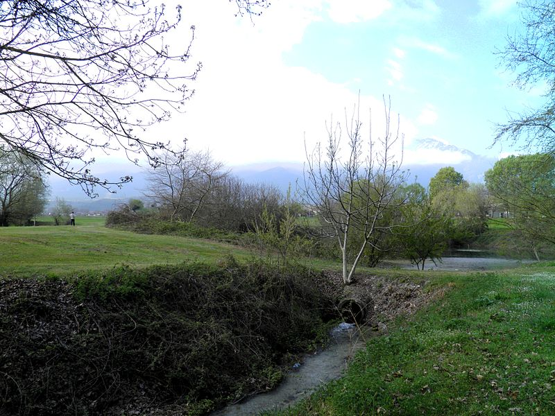 The_sacred_springs_of_Ancient_Dion_with_Mount_Olympus_in_the_background,_Dion_(6930181030)