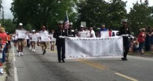 Dacula Memorial Day Parade Names of the Fallen (2012)