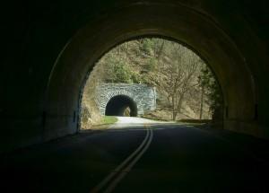 Double Tunnels, ©Linda Clark