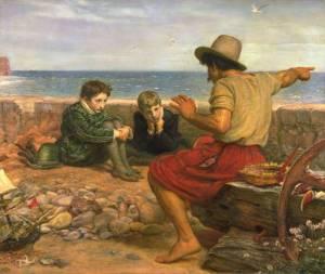 The Boyhood of Raleigh  Sir john Everett Millais, 1860